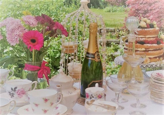 Bucks vintage tea parties with psychic readings