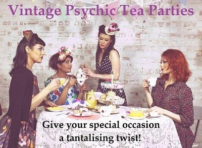 Vintage PSYCHIC tea parties!